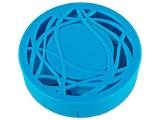 alensa.pl - Soczewki kontaktowe - Pudełko na soczewki z lusterkiem - niebieski oranament