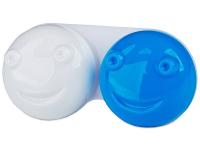 alensa.pl - Soczewki kontaktowe - Pojemnik na soczewki 3D - niebieski