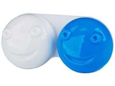 Pojemnik na soczewki 3D - niebieski