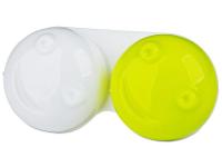 alensa.pl - Soczewki kontaktowe - Pojemnik na soczewki 3D - żółty