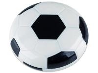 Pudełko na soczewki z lusterkiem Football - czarne