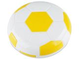 alensa.pl - Soczewki kontaktowe - Pudełko na soczewki z lusterkiem Football - żółte
