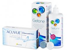 Acuvue Oasys (12 soczewek) + płynGelone 360 ml