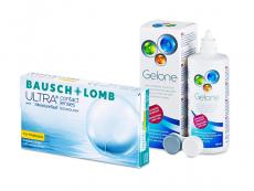 Bausch + Lomb ULTRA for Presbyopia (6 soczewek) + płyn Gelone 360 ml
