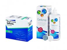 SofLens 38 (6 soczewek) + płyn Gelone 360 ml