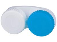 alensa.pl - Soczewki kontaktowe - Pojemnik na soczewki niebiesko-biały L+R