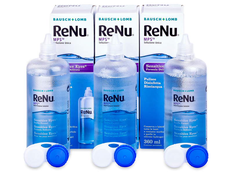Płyn ReNu MPS Sensitive Eyes 3x360 ml