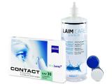 Carl Zeiss Contact Day 30 Compatic (6soczewek) +płyn Laim-Care 400ml