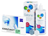 Carl Zeiss Contact Day 30 Compatic (6soczewek) +płyn Gelone 360ml