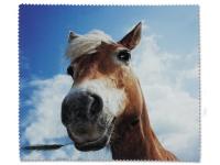 alensa.pl - Soczewki kontaktowe - Ściereczka do czyszczenia okularów - koń