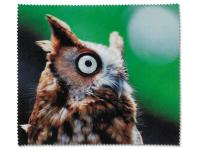 alensa.pl - Soczewki kontaktowe - Ściereczka do czyszczenia okularów - sowa