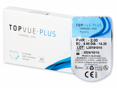 TopVue Monthly  Plus (1soczewka)