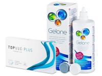 TopVue Monthly PLUS (6 soczewek) + płyn Gelone360ml