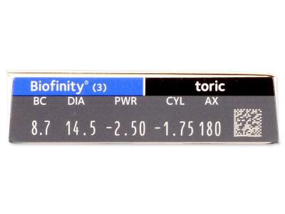 Biofinity Toric (3 soczewki)