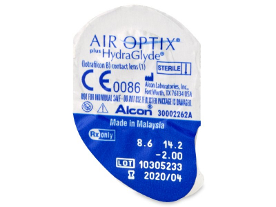 Air Optix plus HydraGlyde (3 soczewki)
