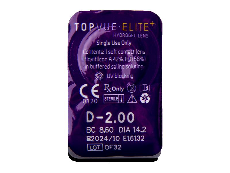 TopVue Elite+ (90 soczewek)