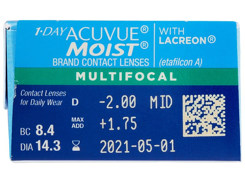1 Day Acuvue Moist Multifocal (30 soczewek)