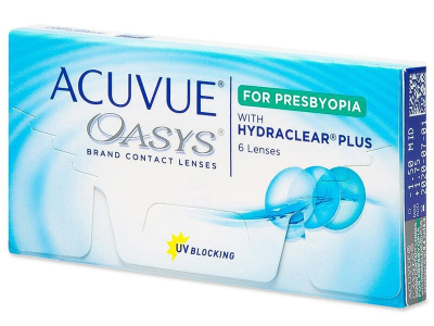 Acuvue Oasys for Presbyopia (6 soczewek)