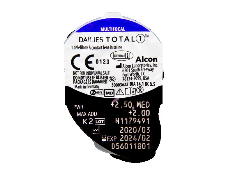 Dailies TOTAL1 Multifocal (30 soczewek)