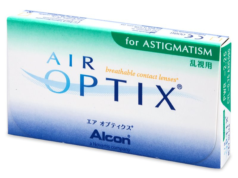 Air Optix for Astigmatism (3 soczewki)