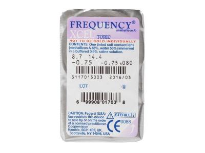FREQUENCY XCEL TORIC (3 soczewki)