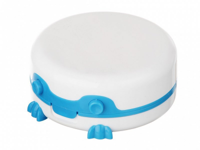 Wibracyjny pojemnik na soczewki
