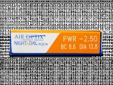 Air Optix Night & Day Aqua (6 soczewek)